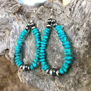 Campitos Turquoise & Desert Pearl Earrings